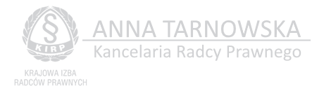 Kancelaria Radcy Prawnego Anna Tarnowska